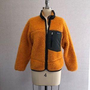 Patagonia Orange Sweater - S woman (Kids 10)